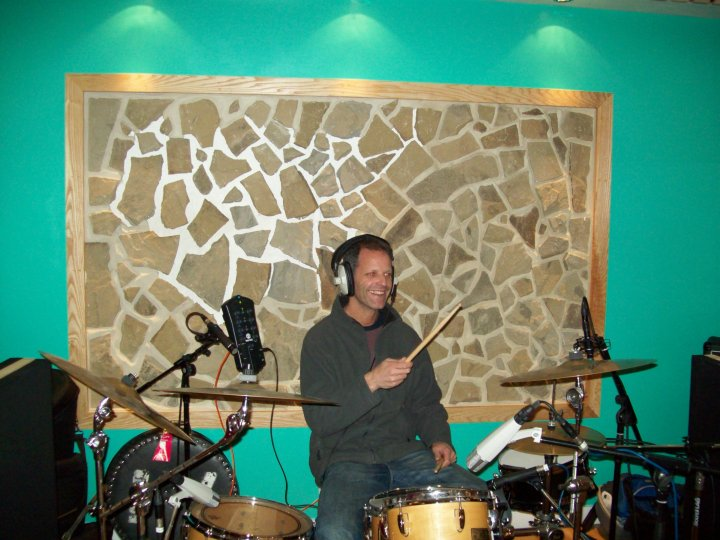 Alon drumming
